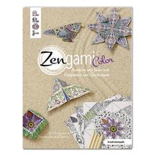 """Buch """"Zengami Color"""" Ausmalen und falten zum Entspannen und Glücklichsein"""
