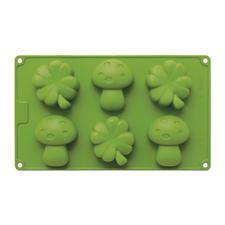 Pilze & Kleeblätter mittel, für 6 Stück. Größe Ø 7 – 7,5 cm