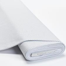 """Meterware Baumwoll-Jersey """"Pünktchen Weiß"""" Baumwoll-Jersey – Der ideale Stoff für bequeme Shirts, Kleider und Kindermode."""