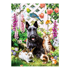 """Puzzle """"Gartenfreunde"""" Ein Spaß für die ganze Familie – spannend und entspannend zugleich."""