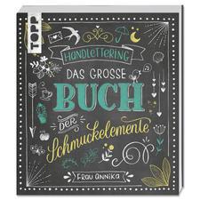 """Buch """"Handlettering. Das große Buch der Schmuckelemente""""."""