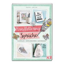 """Buch """"Handlettering-Sprüche zum Ausmalen""""."""