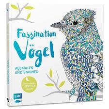 """Buch """"Faszination Vögel"""" Ausmalbuch """"Faszination Vögel"""" – Ausmalen und Staunen."""