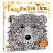 """Buch """"Faszination Tiere"""" Ausmalbuch """"Faszination Tiere"""" – Ausmalen und Staunen."""