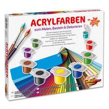 Acrylfarben zum Malen, Basteln & Dekorieren.