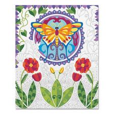 """Relax & Color """"Schmetterling"""" Relax & Color – Die Alternative zum Ausmalbuch für Erwachsene."""