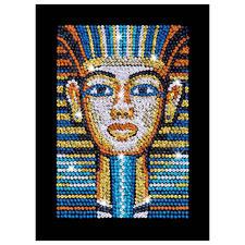 """Paillettenbild für Erwachsene """"Tutanchamun"""" Paillettenbilder mit eindrucksvollen Motiven"""
