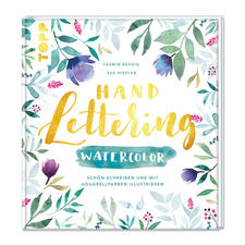 "Buch - Handlettering Watercolor Buch ""Handlettering Watercolor"""