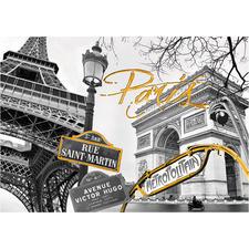"""Puzzle - Goldenes Paris Die neue """"Touch of Gold Puzzle Collection"""" – kreieren Sie Ihr eigenes Kunstwerk."""