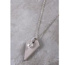 "Schmuckbeton-Kette ""Diamant"" inkl. Glasstein"