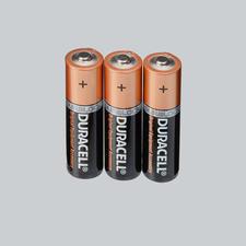 """Duracell """"Advanced Long Life"""" Alkaline Batterien, 3er-Set Duracell """"Advanced Long Life"""" Alkaline Batterien"""