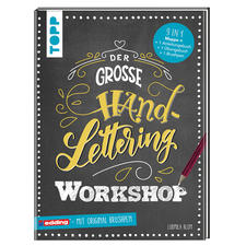 Buch - Der große Handlettering Workshop