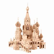 "3D Holz-Puzzle ""St.Petersburg Kathedrale"" Gestalten mit Holz."