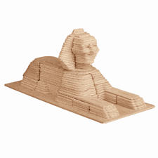"3D Holz-Puzzle ""Sphinx"" Gestalten mit Holz."