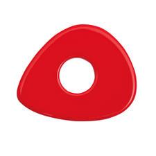 Asymmetrisch, Rot