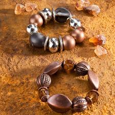 "Armbänder ""Kandis"" oder ""Kakao"" Armbänder ""Kandis"" oder ""Kakao"""