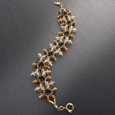 """Komplettpackung Armband """"Viktoria"""", Gold Schillernder Schmuck im viktorianischen Stil."""