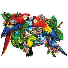 Puzzle - Papageien Ein Spaß für die ganze Familie – spannend und entspannend zugleich.