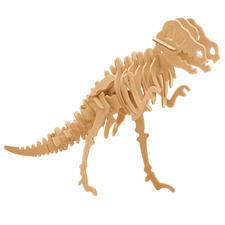 "3D Holz-Puzzle ""Tyrannosaurus"" Gestalten mit Holz."