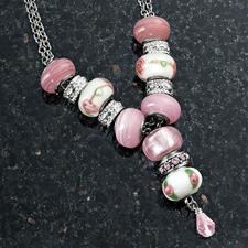 Komplettpackung - Bijou-Halsketten Im Stil exklusiver Designer-Kollektionen: begehrter Bijou- Schmuck zum individuellen Gestalten.
