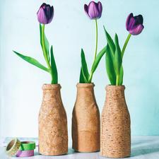 "Näh-Idee ""Vase"" Vase: Näh-Idee aus dem Buch ""Nähen mit Korkstoff"""