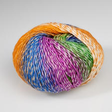 14 Orange/Blau/Fuchsia/Grün
