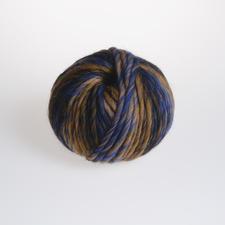 812 Ocker/Blau/Gold/Mokka