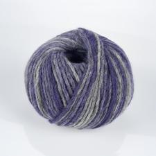 02 Blauviolett/Dunkelgrau meliert