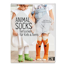 "Buch ""Animal Socks: Tiersocken für Kids & Teens"" Animal Socks: Tiersocken für Kids & Teens."