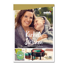 """Buch addiExpress - Kurbeln statt Stricken Buch addiExpress """"Kurbeln statt Stricken"""""""