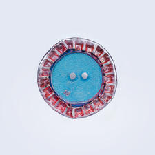 Jim Knopf Recycle Kronkorken-Kopf, Flach, Ø 28 mm, 1 Stück