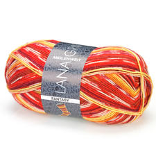 4790 Rot/Orange/Gelb/Bordeaux/Creme