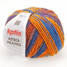 708 Orange-Blau