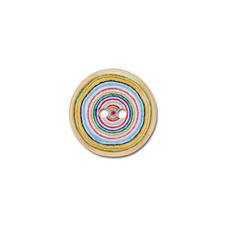 "Jim Knopf Kokosknopf ""Circle"", Bunt, Ø 15 mm, 1 Stück."
