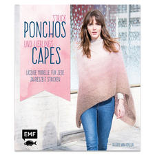 "Buch ""Strick Ponchos und Lieblings Capes"""
