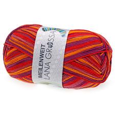 6611 Rot/Lila/Orange/Mauve