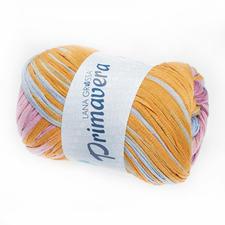 125 Pastellblau/Altrosa/Honiggelb