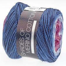 604 Fliederpink/Violett/Weiß/Mittelblau/Blau/Schwarz