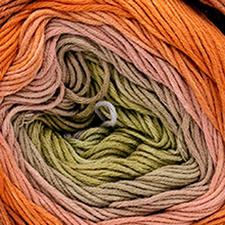 205 Hellblau-Kaki-Rose-Orange