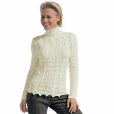 Anleitung 200/6, Damenpullover aus Seidana® von Junghans-Wolle