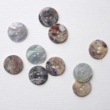 Perlmuttknopf, Ø 18 mm, 1 Stück
