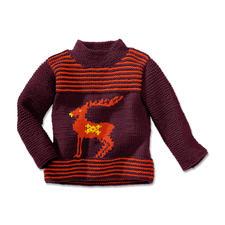 Modell 254/4, Pullover aus Merino-Extrafein von Junghans-Wolle