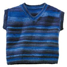 Modell 273/0, Kinderpullunder aus Freizeit Color 6-fädig von Junghans-Wolle
