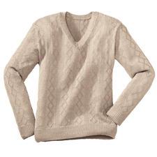Modell 218/0, Herrenpullover aus Seidana® von Junghans-Wolle
