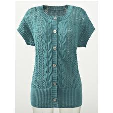 Modell 175/4, Weste aus Seidana® von Junghans-Wolle