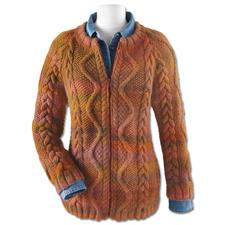 Modell 057/5, Jacke aus Scala von Junghans-Wolle