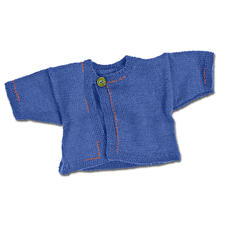 Modell 324/3, Babyjacke aus Merino-Supersoft von Junghans-Wolle