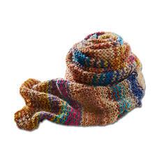 Modell 474/4, Schal aus Freizeit-Color 4-fädig von Junghans-Wolle