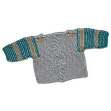 Modell 147/5, Pullover aus Uppland von Junghans-Wolle