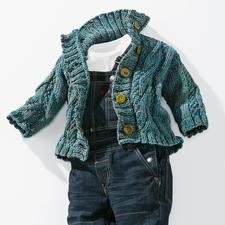 Modell 440/5, Kleinkinderjacke aus Lysander von Junghans-Wolle